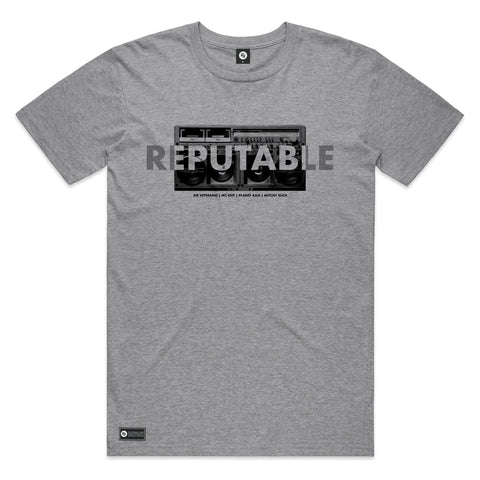 Reputable Tee + Digital Single (heather grey)