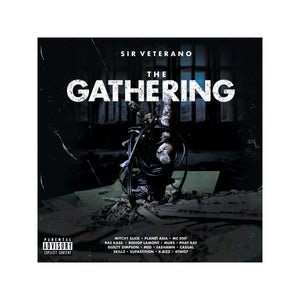 The Gathering Tee + CD + Digital Album (black)