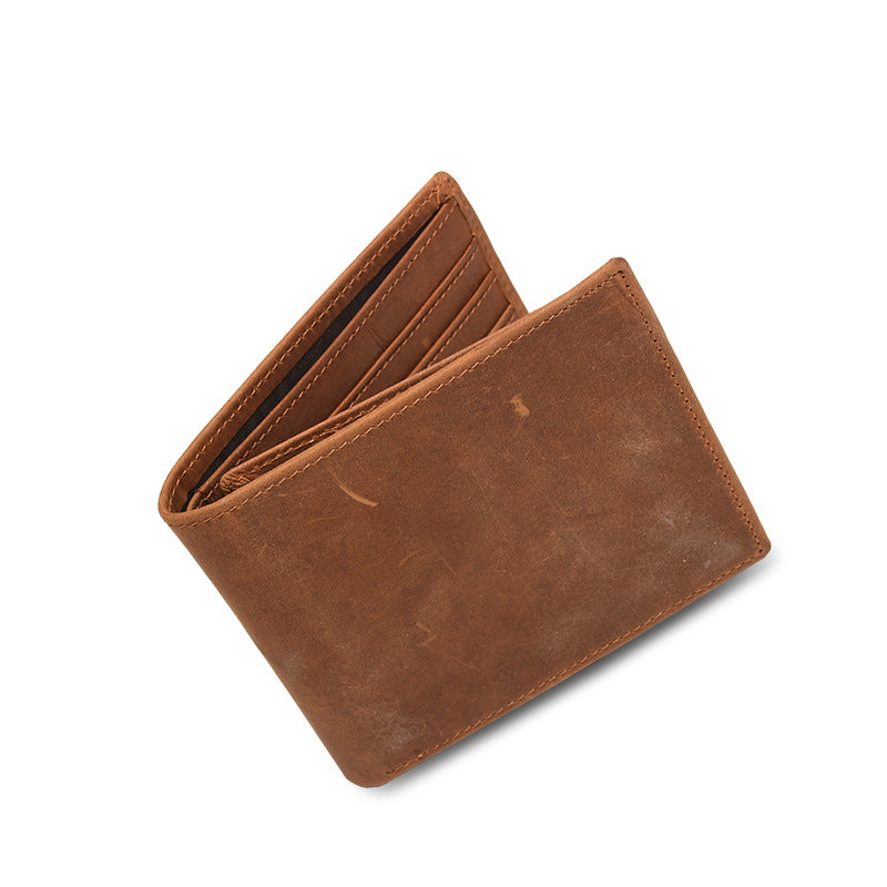 BackBange Thin Design Classic Leather Wallet