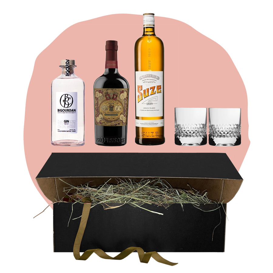 BIG WHITE NEGRONI BOX