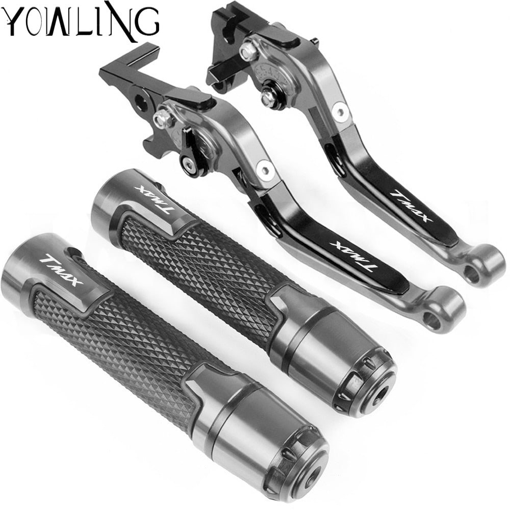 Motorcycle Accessories Extendable Brake Clutch Levers Handlebar Hand Grip