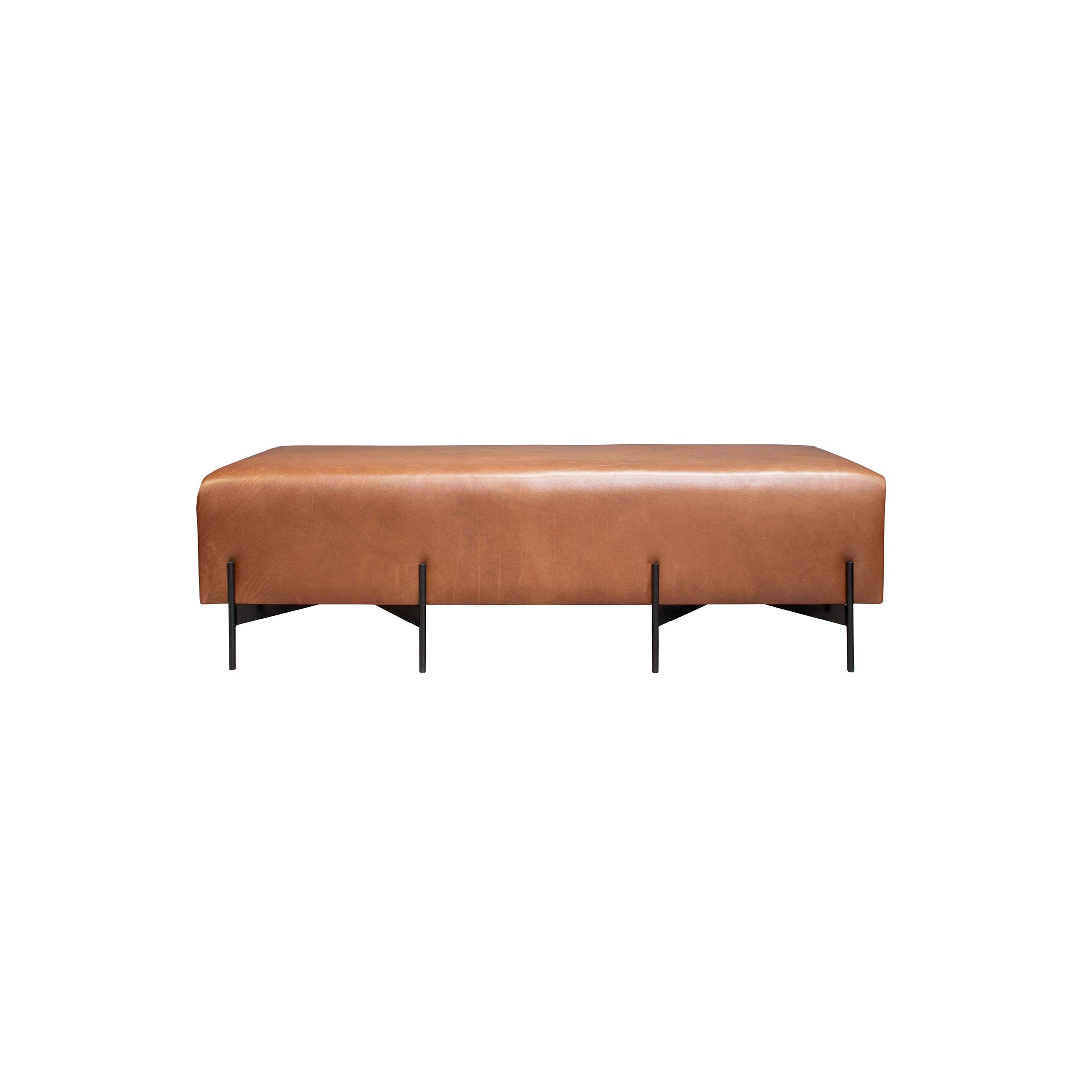 Powder coated Legs 11 Ottoman