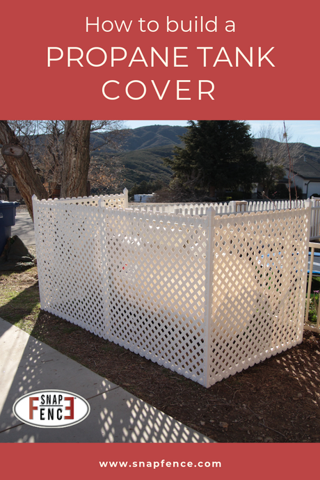 How To Build A Propane Tank Cover