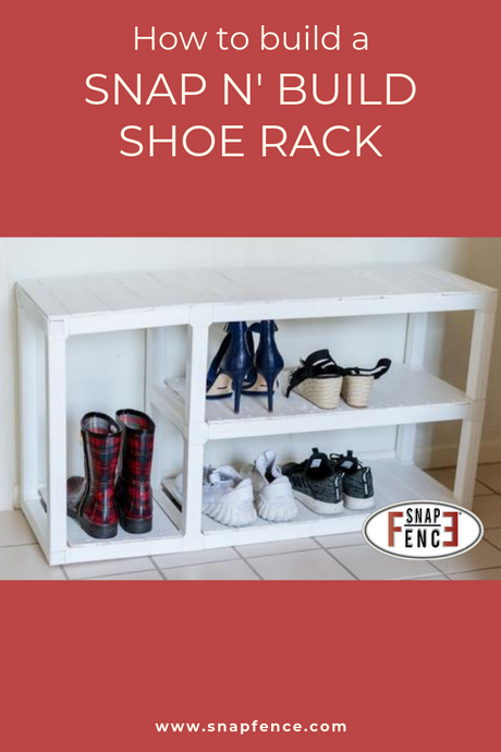 DIY Shoe Rack / Bench