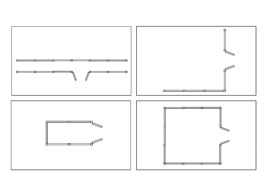 Fence Layouts