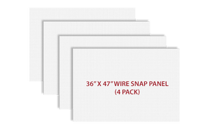 "36"" x 47"" Wire Panel / 4 Pack - CLOSEOUT"