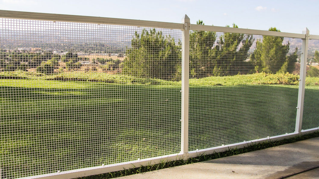 Secure & Accessible Wire Modular Fencing System