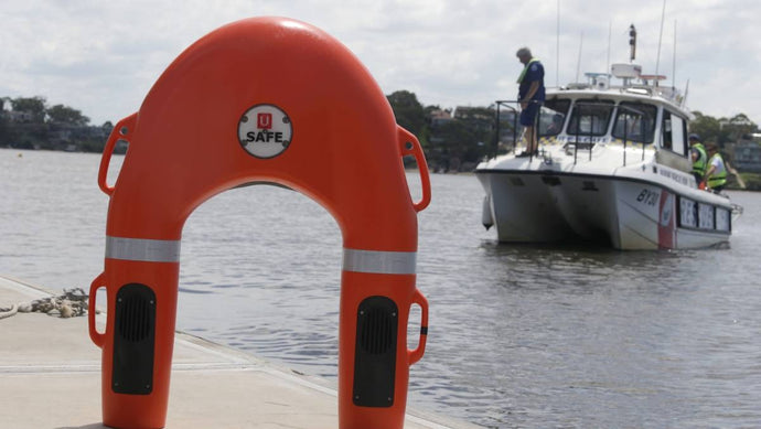 Trial of self-propelled, remote-controlled life buoy launched at Sylvania