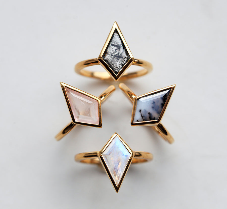 Glenn Lab Alexandrite Kite Ring