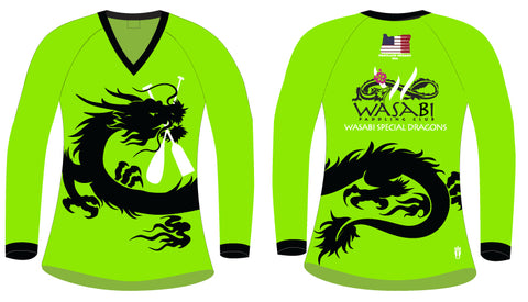 Wasabi Special Dragon- Women's H2O Long Sleeve Jersey