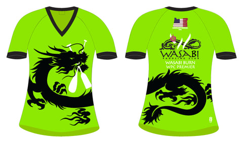 Wasabi Burn- Women's H2O Short Sleeve Jersey