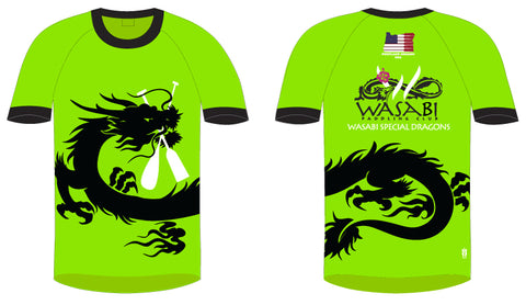 Wasabi Special Dragon- Men's H2O Short Sleeve Jersey