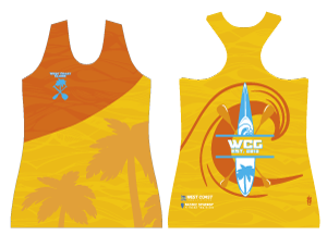 West Coast Glider | Women's Athletic Tank Top
