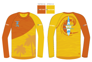 West Coast Glider | Men's Athletic Jersey Long Sleeve