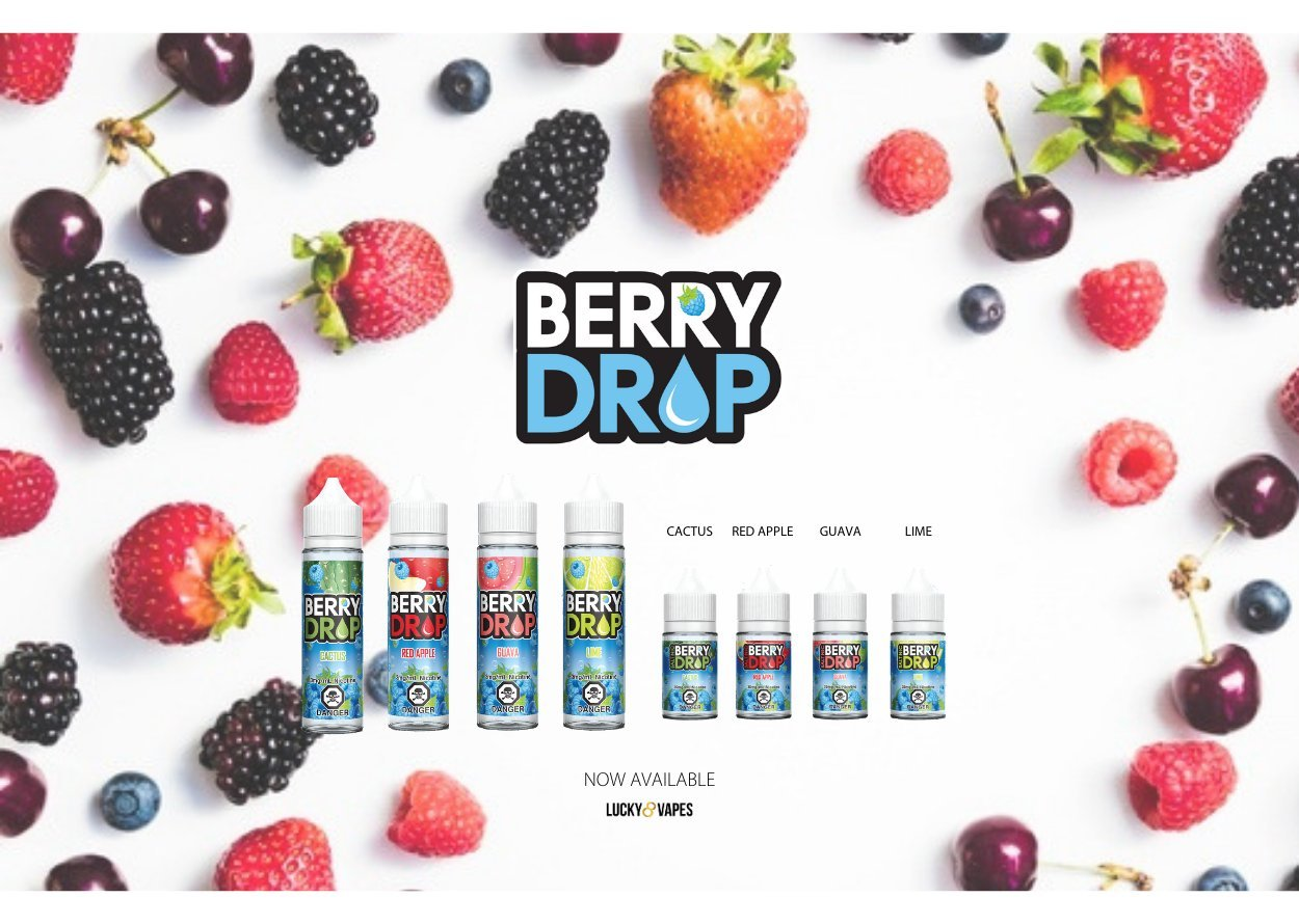 Free Shipping Berry Drop Salt Closed Pod System Available Now Click Here To Shop