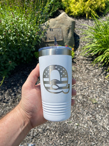 The USA Q 20oz Yeti Style Travel Mug
