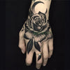 Waterproof Temporary Tattoo | Rose | Flower | Hand Art | Unisex - Designed By Tattoo King