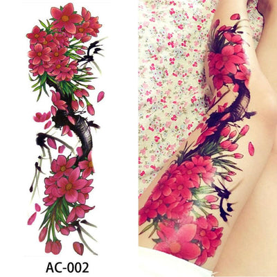 16 Amazing Designs (Sold 1PC/1 Design) Full Arm & Leg Temporary Waterproof Tattoo For Men/Women - Designed By Project Zero