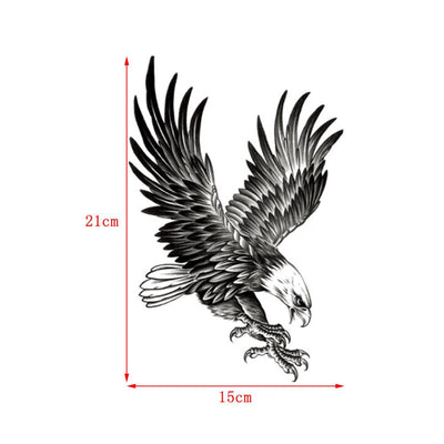 New Eagle Waterproof Temporary Body Tattoo | Arm | Shoulder | Chest