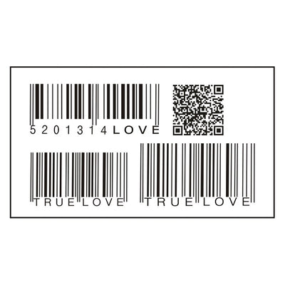 Waterproof Temporary Barcode Tattoo | Black | Triangle Tattoos | Full Body | Various Designs Available - Designed By Jessica Croft