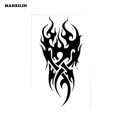 Waterproof Temporary Tattoo | Fire Tattoo | Flame | 12*19CM  - Designed By Joey