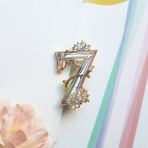 White Swan BTS Pin