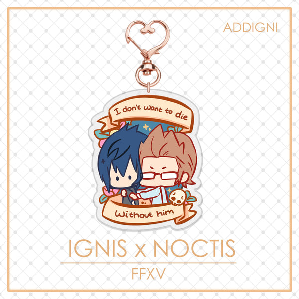 FFXV Charms: Ignis x Noctis