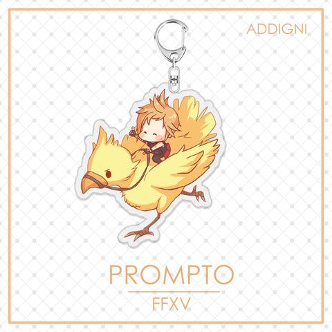 FFXV Charms: Prompto Chocobo
