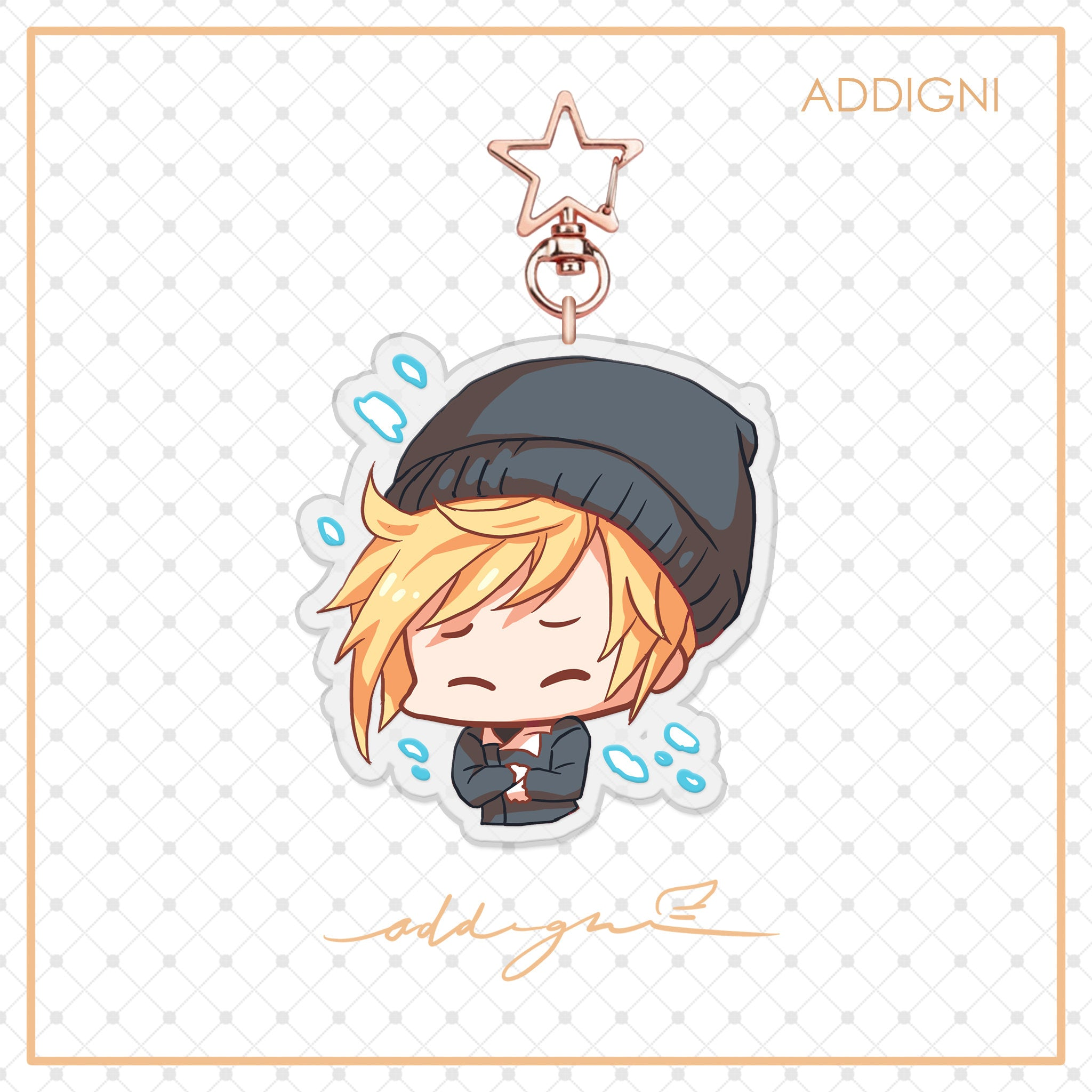 FFXV Charms: Prompto in Snow