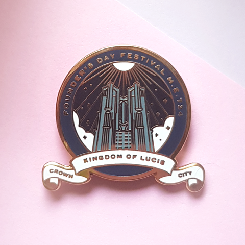 FFXV Founder's Day Enamel Pin