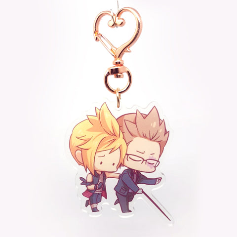 FFXV Charms: Prompto X Ignis