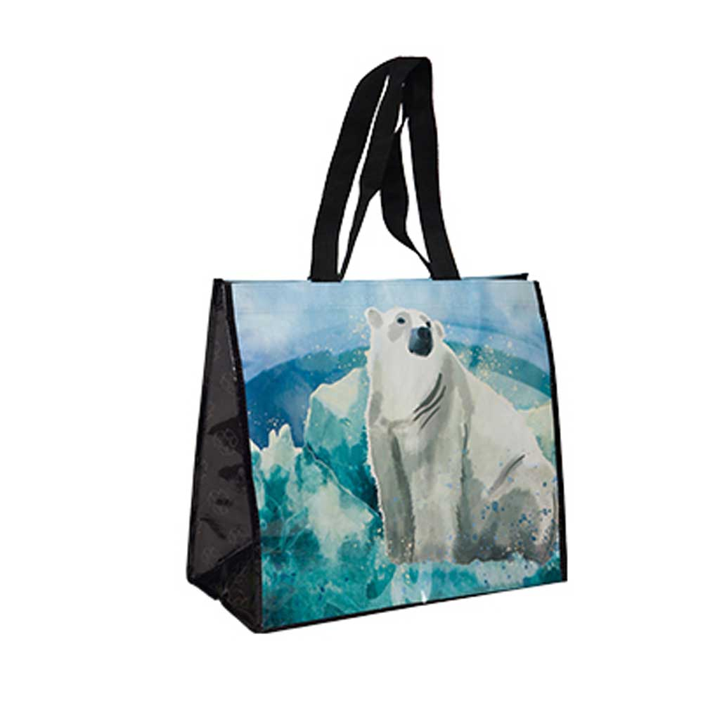 Polar Watercolor Tote Bag