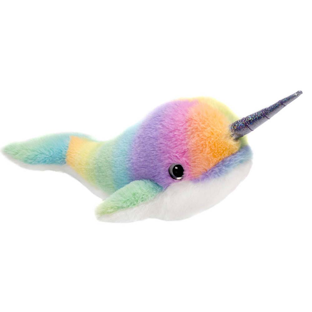 "Rainbow Sherbet - 14"" Narwhal"