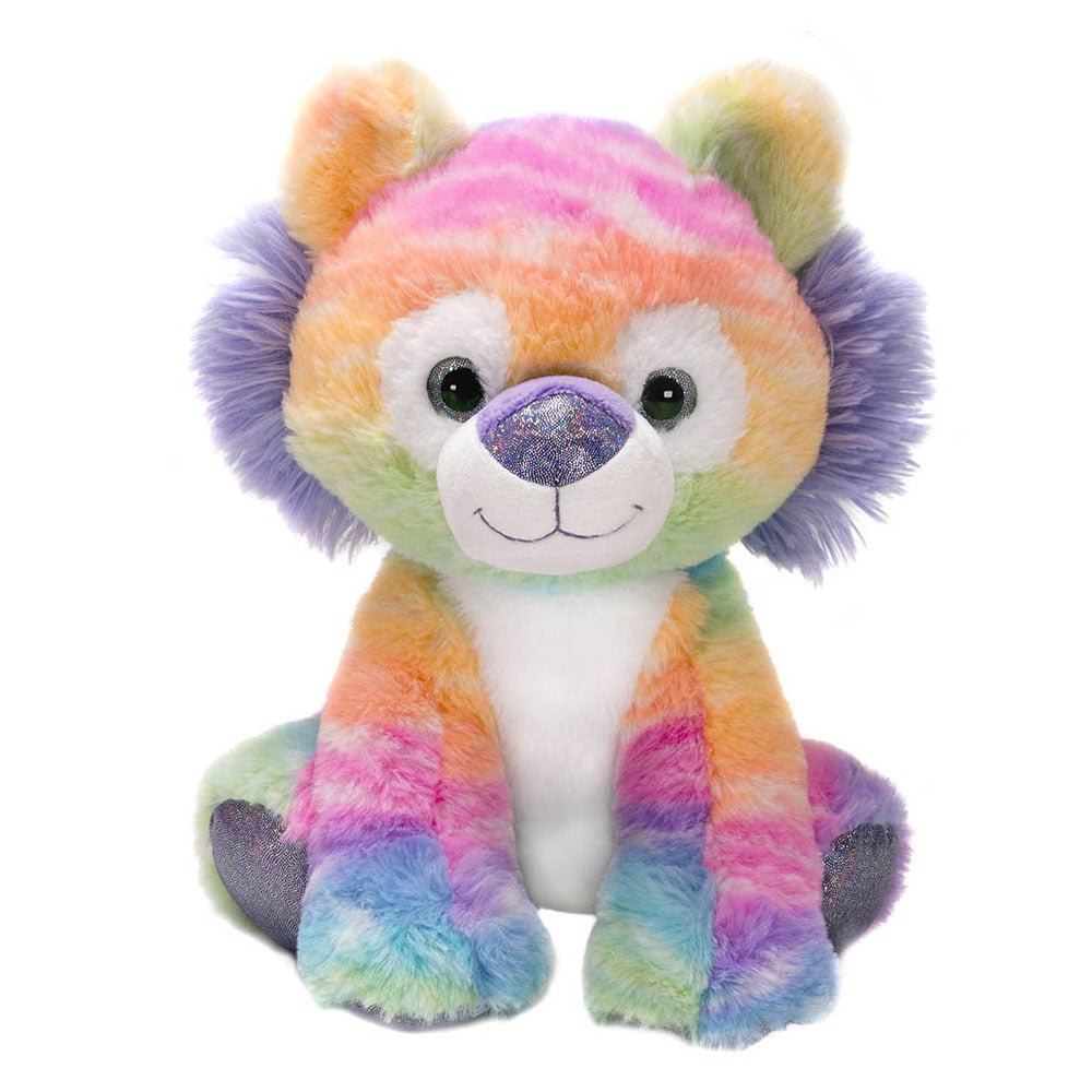 "Rainbow Sherbet - 10.5"" Sitting Tiger"