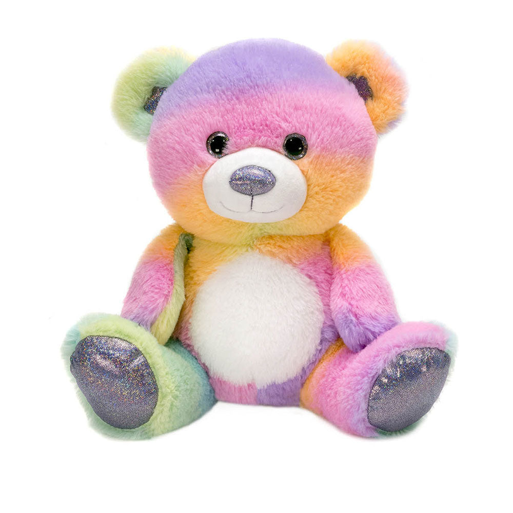 "Rainbow Sherbet - 10.5"" Sitting Bear"