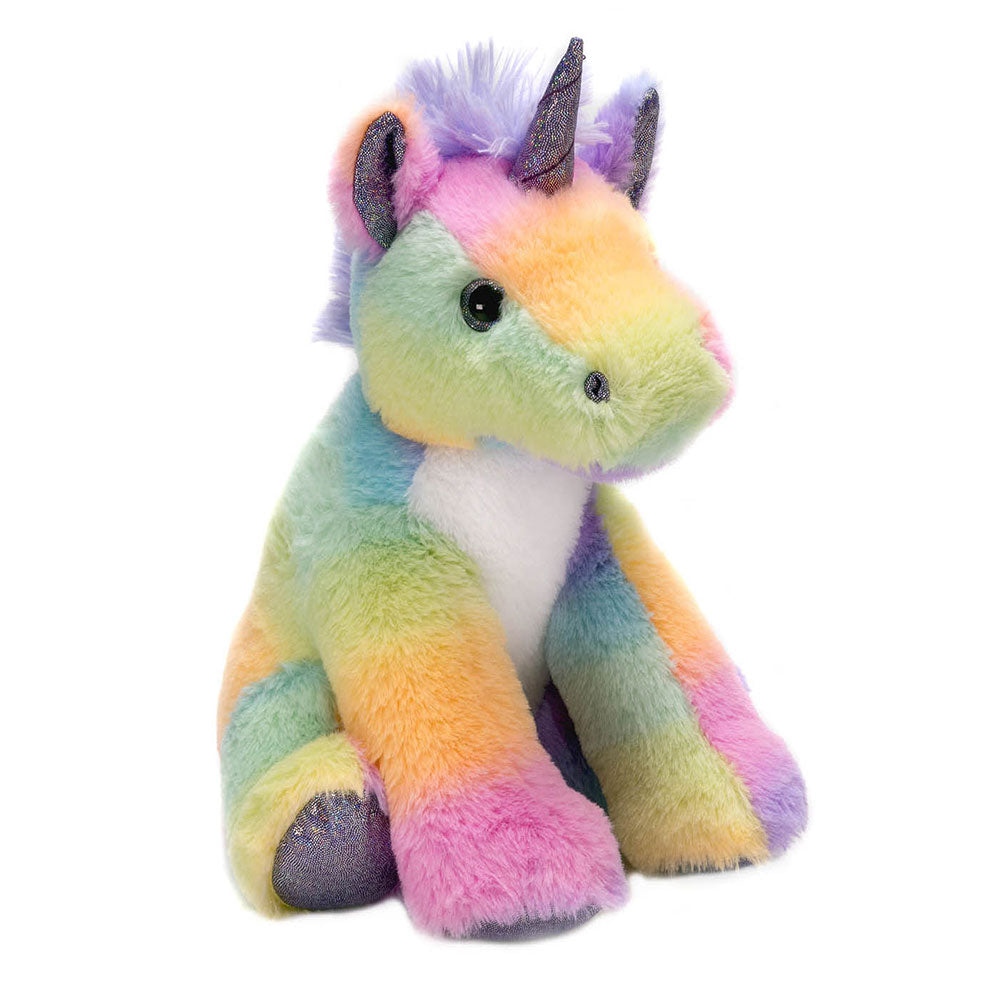 "Rainbow Sherbet - 10.5"" Sitting Unicorn"