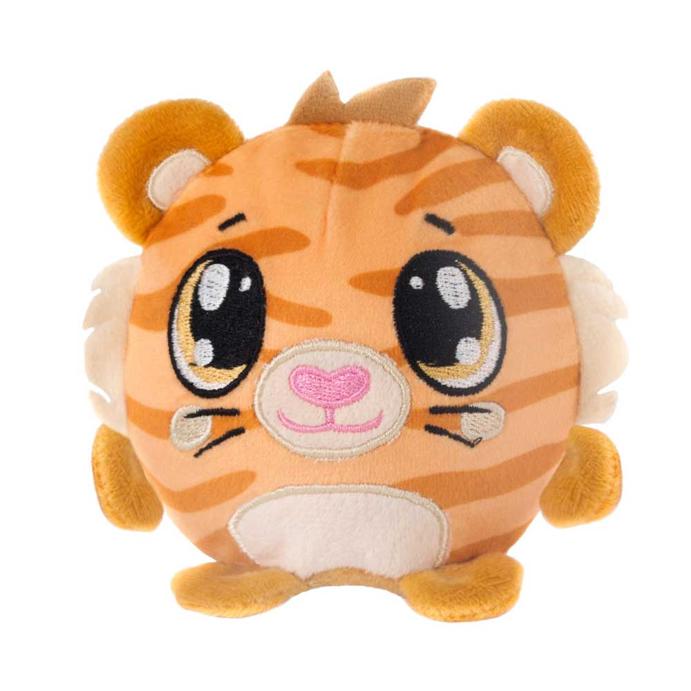 "Mushy Plushies Titus - 3.5"" Tiger"