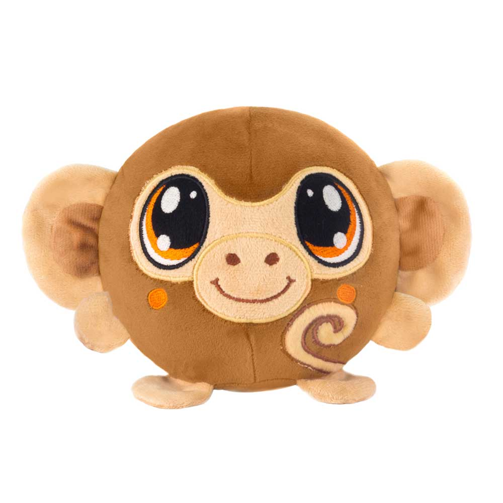 "Mushy Plushies Mongo - 3.5"" Monkey"