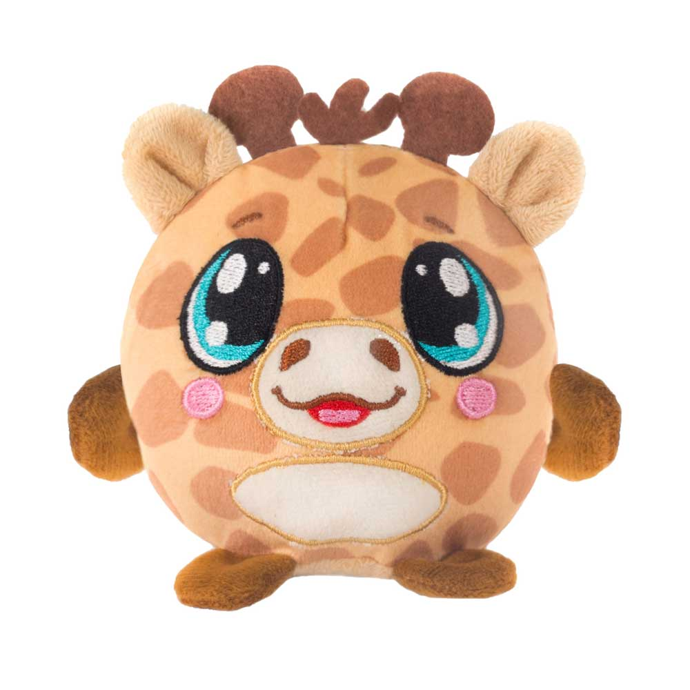 "Mushy Plushies Izzy - 3.5"" Giraffe"