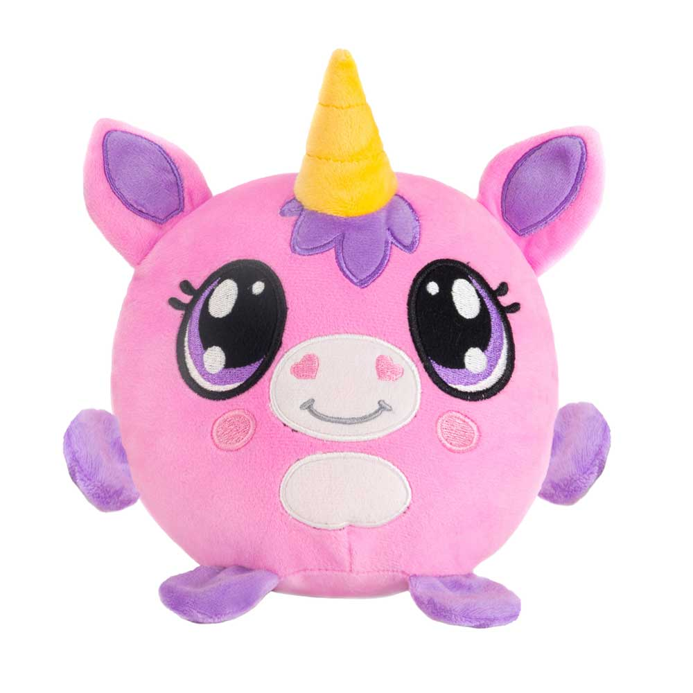 "Mushy Plushies Addy - 3.5"" Unicorn"