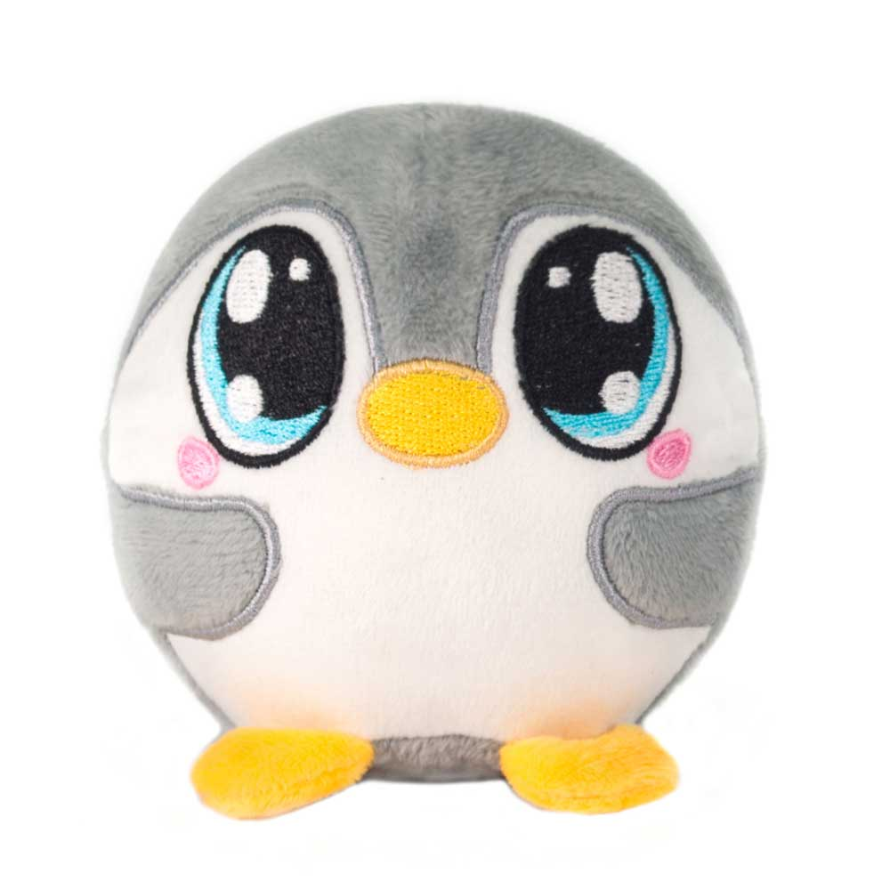 "Mushy Plushies Pandora - 3.5"" Penguin"