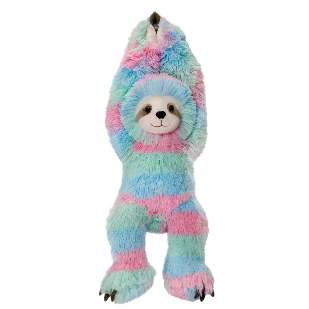 "18"" Colorful Cuddle Sloth"