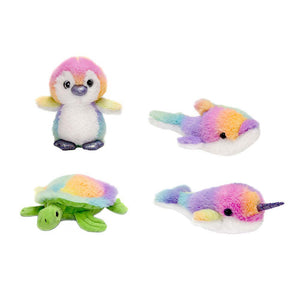 "Rainbow Sherbet - 6.5"" Assorted Sea Animals"