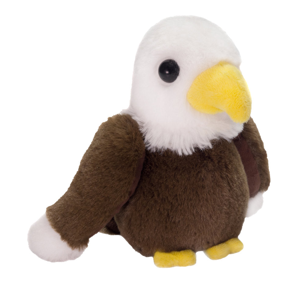 "7"" Eric - Floppy Bean Bag Brown Eagle"