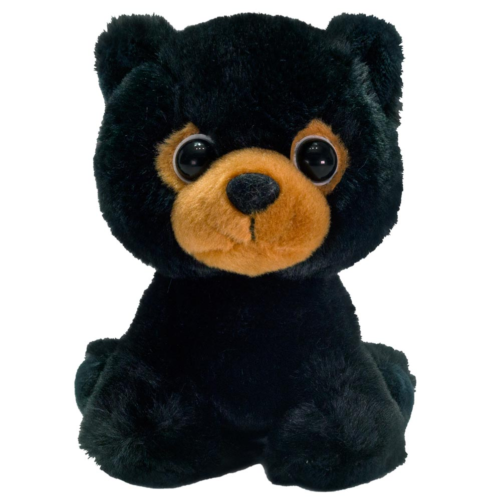 "7"" Billy - Floppy Bean Bag Black Bear"