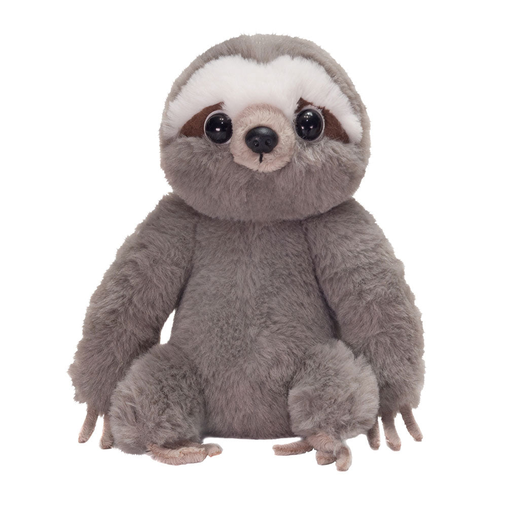 "7"" Nick - Floppy Bean Bag Gray Sloth"