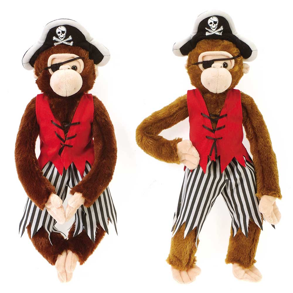 "16"" Pirate Monkeys"