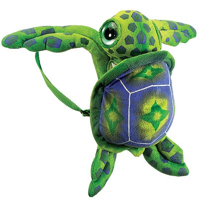 "17"" Big Eye Turtle Backpack"