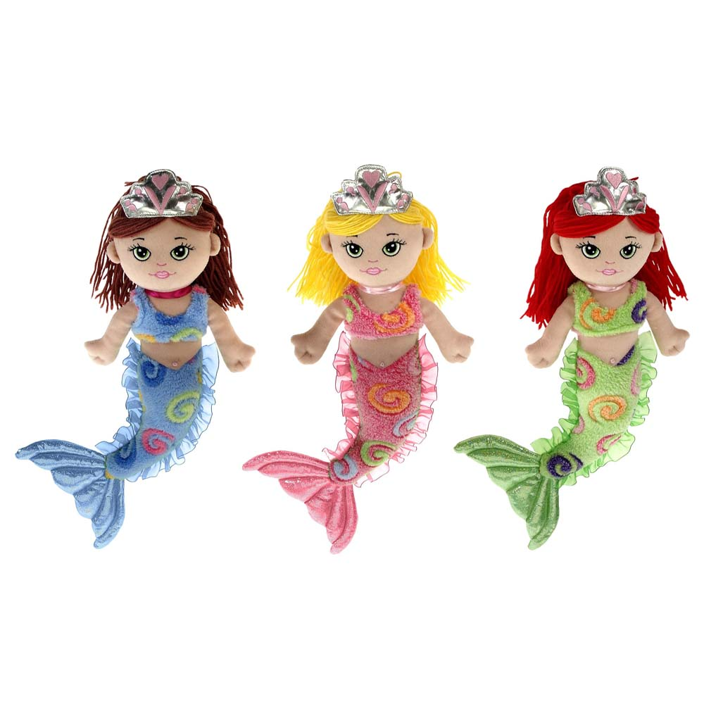 "Mermaids - 12"" Swirl Mermaids"