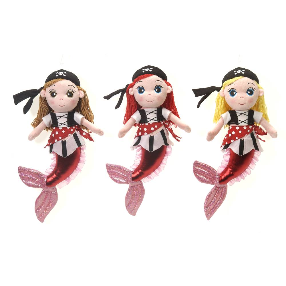 "Mermaids - 16"" Pirate Girls"